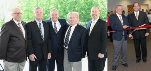 Pictured (from left to right): Ron Mawaka Jr., Claude Nolty, Ron Mawaka Sr., Myron Zadony, Scott Mawaka